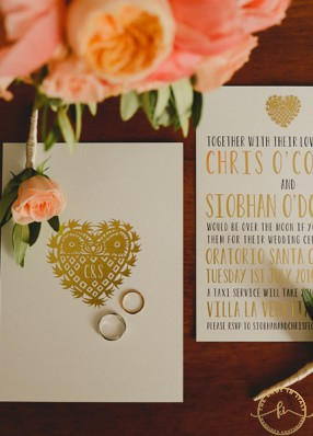 Cozy wedding in Florence