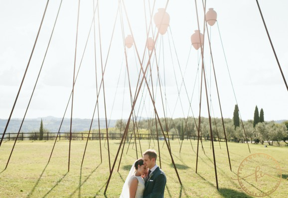Country chic wedding in Chianti