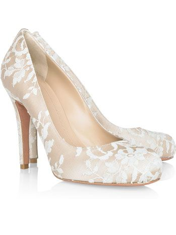Alexander McQueen lace shoes