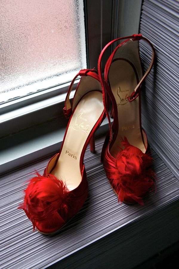 Chirstian Luboutin Red shoes