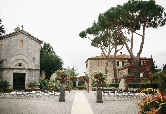 Fall wedding in Tuscany