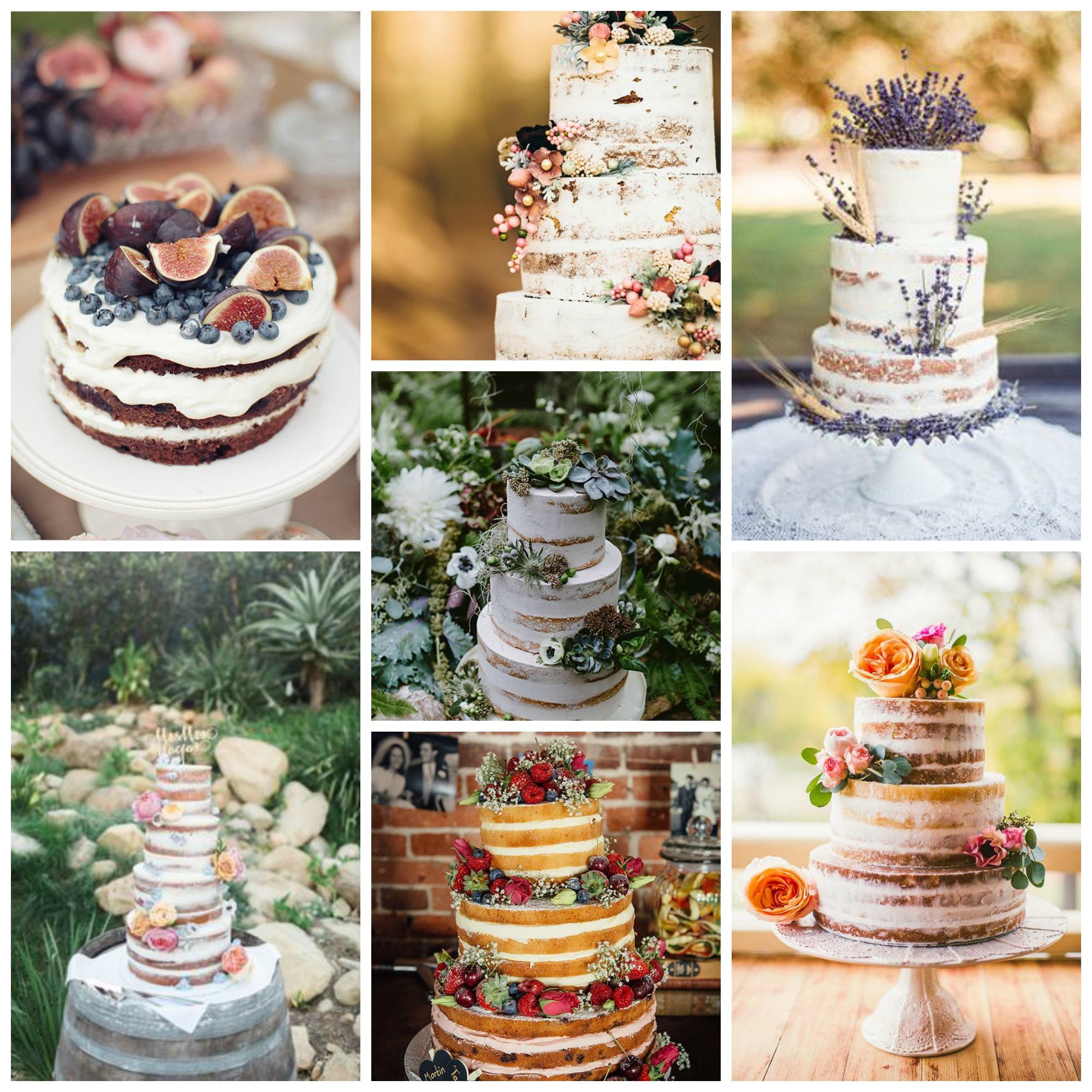 unfrosten wedding cake