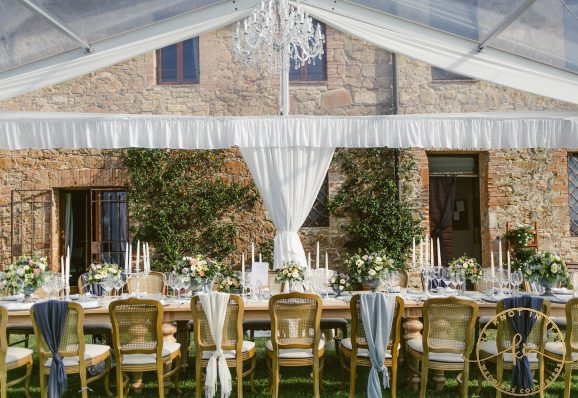 Elegant wedding in Val D'Orcia