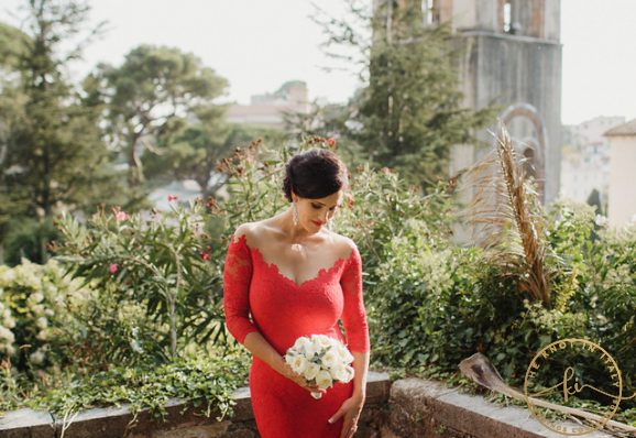 The Bride in Red