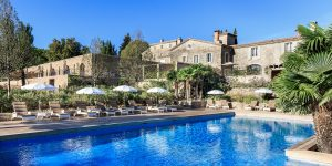 Chateau in french riviera