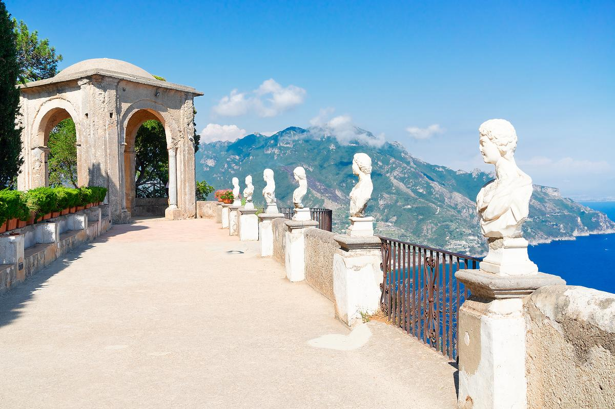 Breathtaking Villa for weddings in Ravello