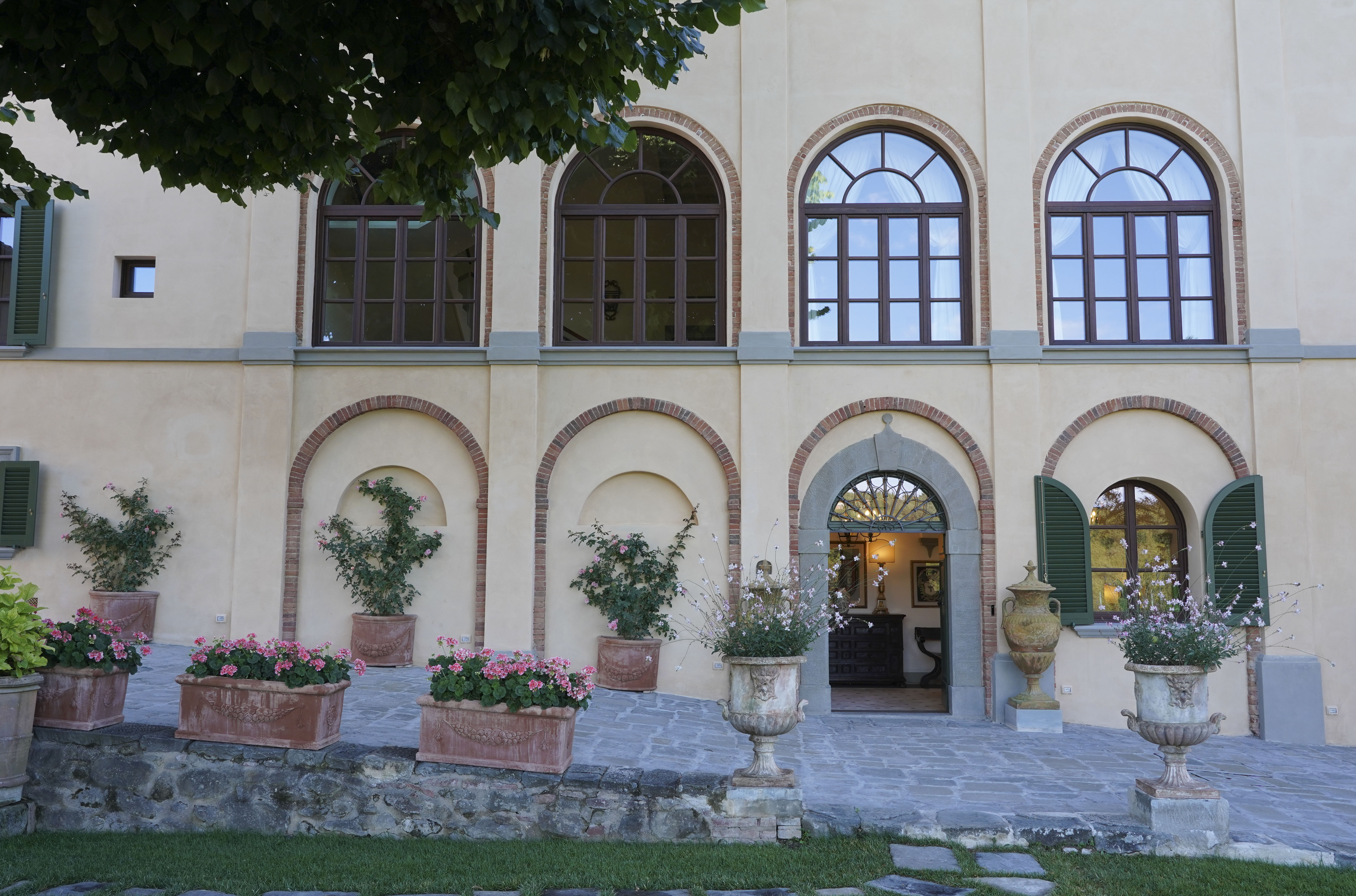 Wine resort in Tuscany