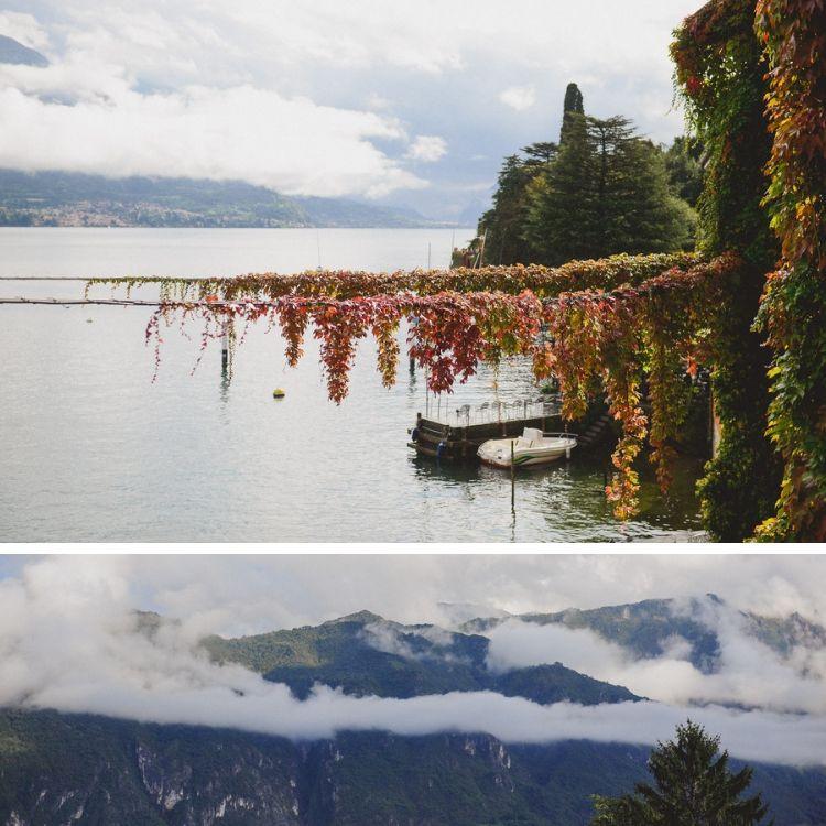 Romantic Autumn in Lake Como