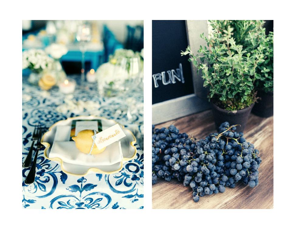 <em>2020 wedding trends lemons and fresh fruits </em>