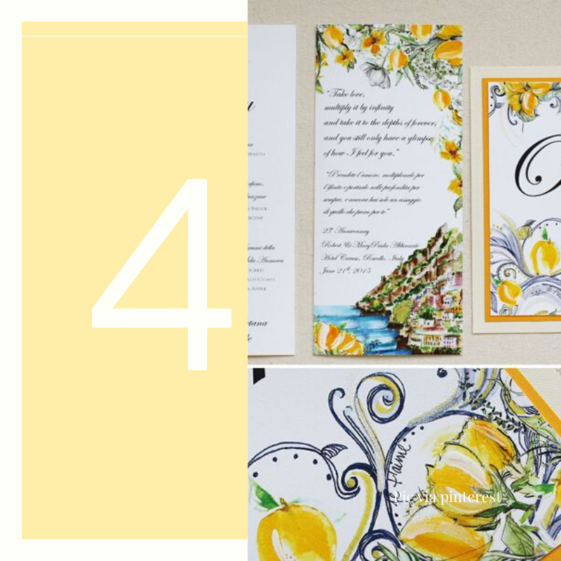 lemons invitation