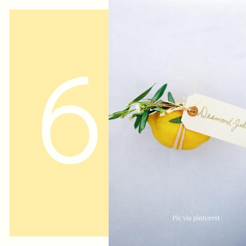 lemons escort cards