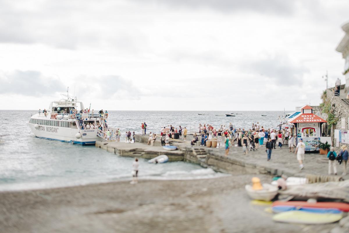 wedding in positano